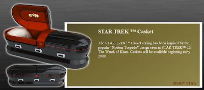 Cercueil Star Trek