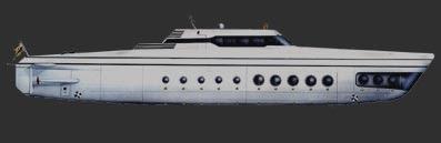 Yacht sous-marin