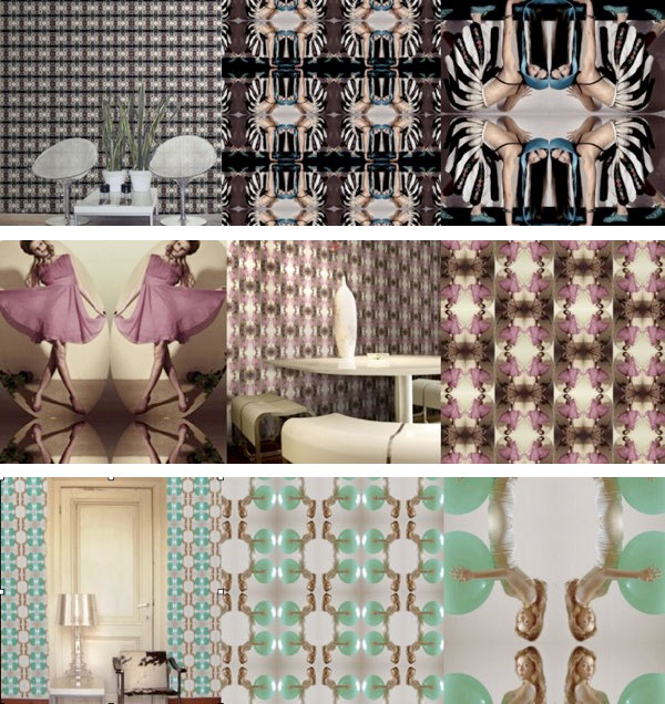 Interior design modern interior wallpaper for Interior decoration wallpaper design