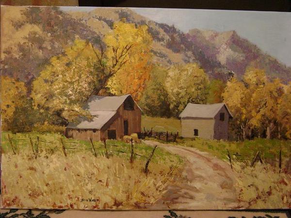 Wellsville Autumn Barn
