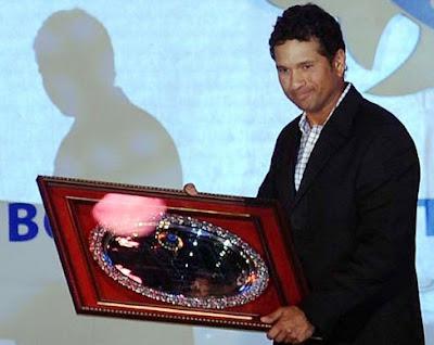 Sachin tendulkar awarded by BCCI
