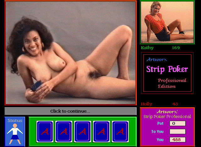 Nude strip poker video game