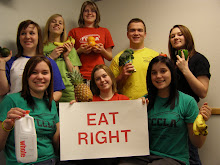 State officers challenge chapters to Eat Right, Be Fit, Make Healthy Choices