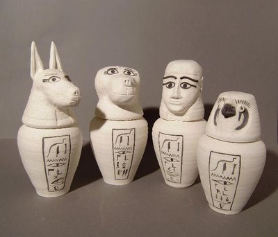 Canopic Jars Origins History