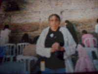 Me at the Wailing Wall