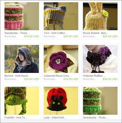 Front Page of ThorisDesigns on Etsy March 22, 2010