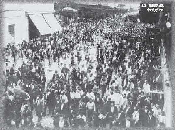 imagenes del movimiento obrero en el centenario
