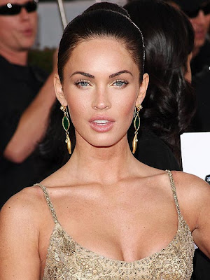 megan fox hair up. megan fox hair colour. megan