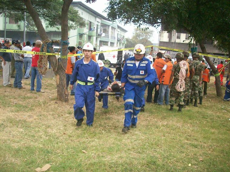 Simulacro Terremoto 2008