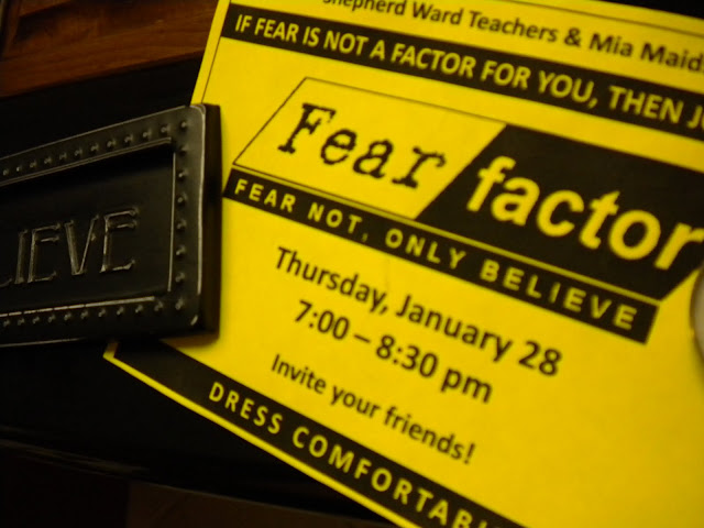 Sisters in Zion Freshaire Designs Fear Factor Fear Not Only – Fear Factor Party Invitations