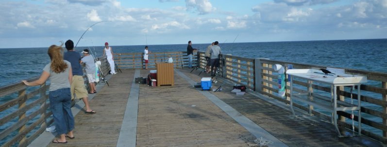 trail chatter lake worth pier fishing
