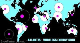 Peta Atlantis dan Koloninya