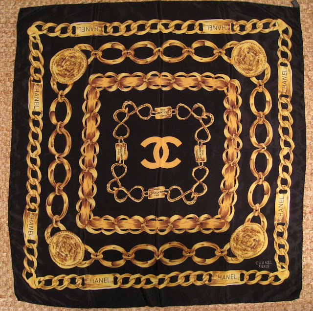 Shop Style Artisan Sold Quot Chanel Quot Silk Scarf
