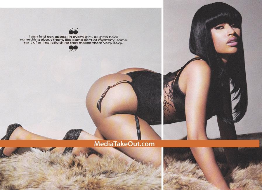 nicki minaj bikini. Nicki Minaj King Photoshoot.
