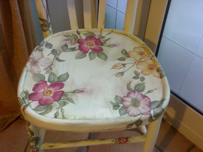 Vecchie sedie decorate in Decoupage  Maison Country Chic