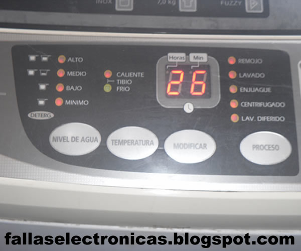 Solucionado - Lavarropas electrolux ew-7desagota pero no