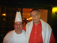 Chef Paulinho Pecora e nosso amigo Paulo Caruso