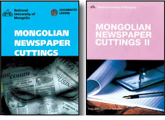 """Mongolian Newspaper Cuttings"" Ж.Бат-Ирээдүй, 2004, 2005"