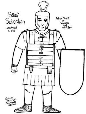 Paper Dali: Saint Sebastian