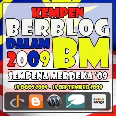 Kempen Berblog Dalam BM 2009 sudah berakhir