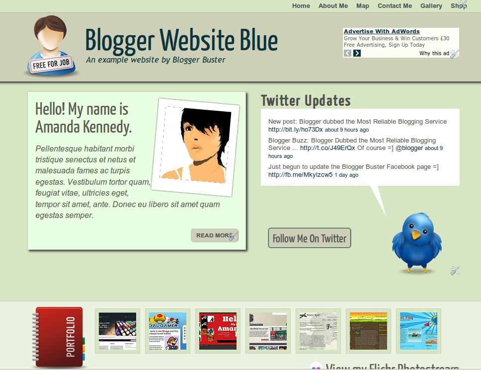 Blogger Buster: eBook - Building Websites with Blogger