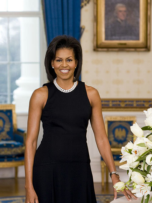 michelle obama fat. is michelle obama fat