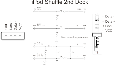 apple ipod shuffle usb charger wire diagram  apple  free iPod Shuffle Charger In-Store Apple iPod Charger
