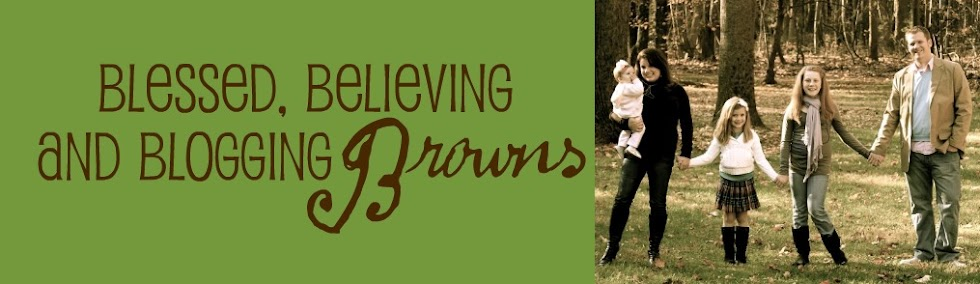 Blessed, Believing, and Blogging Browns