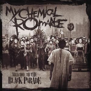 letra de canciones de my chemical romance the black: