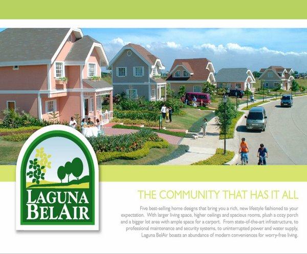Laguna Belair: Sta. Rosa, Laguna