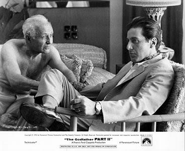 Lee Strasberg y Al Pacino