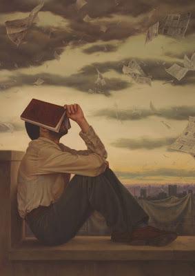 Un hombre con un libro