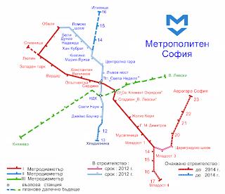 Метро - София