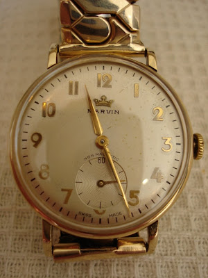 1954 Marvin dress watch