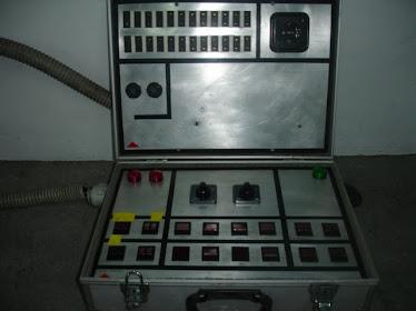 Mala/mesa para controlar luzes