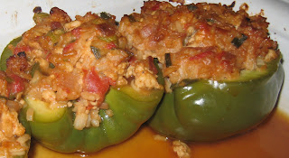 Peppers without marnina sauce