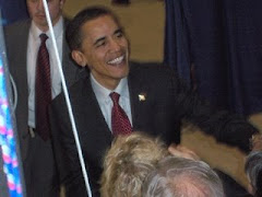 We got to meet Barack Obama in Santa Fe...