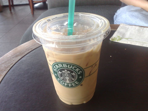 Iced Latte To Go
