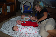 Nana and Emma, Parker, and Sophie