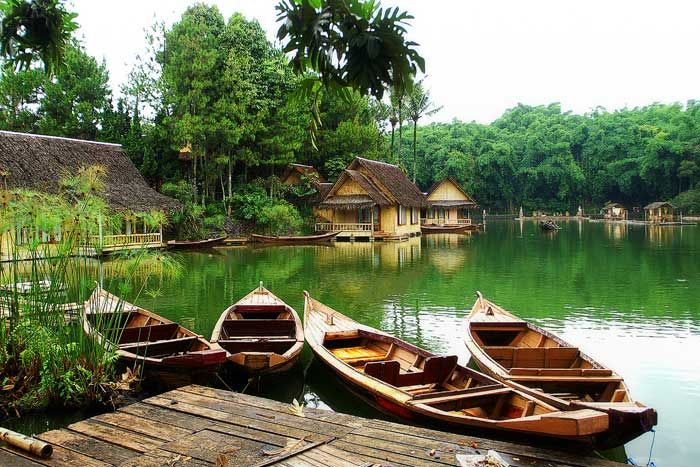 welcome to my blog: Kampung Sampireun