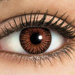 brown color contacts