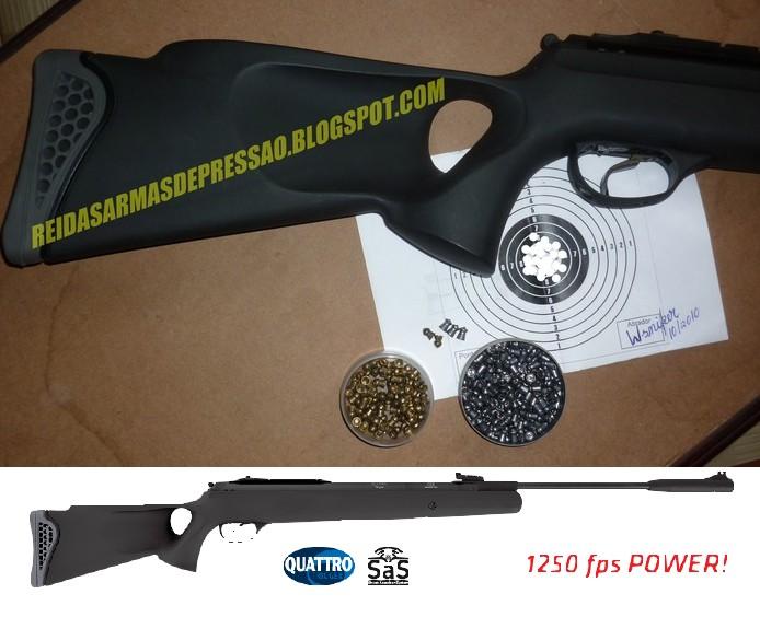 CARABINA DE PRESS  O HATSAN 125 TH 5 5mm   UM OUTRO FUZIL DE AR