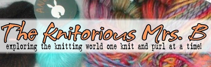 THE KNITORIOUS MRS.B