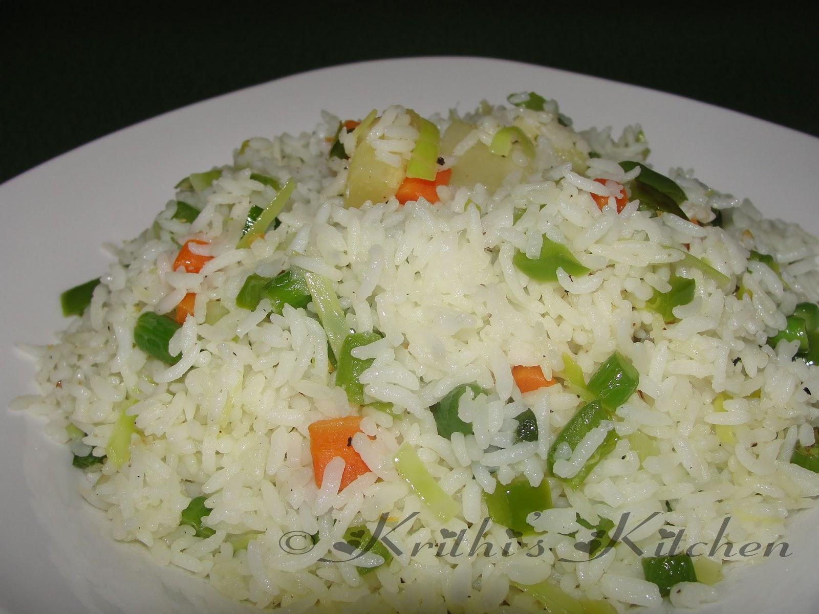 Krithi's Kitchen: Hawaiian Fried Rice