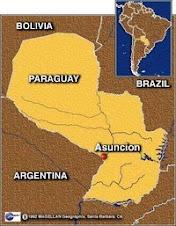 ¿Dónde está Paraguay?