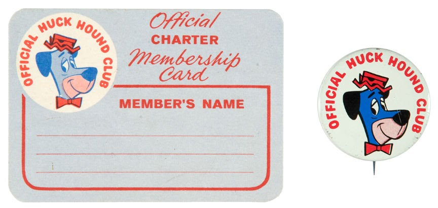 Yowp Fans of the Huckleberry Unite – Club Membership Card Template