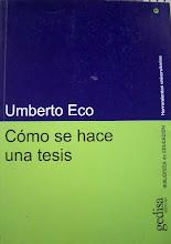 Cómo se hace una tesis (Umberto Eco)