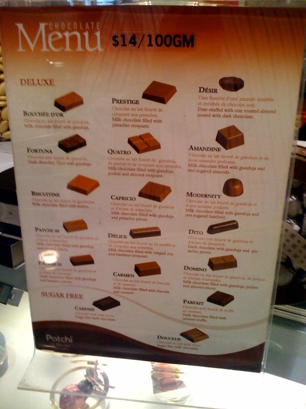 Patchi chocolates price in india