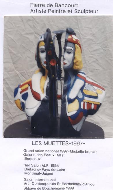 Sculpture P  de Bancourt