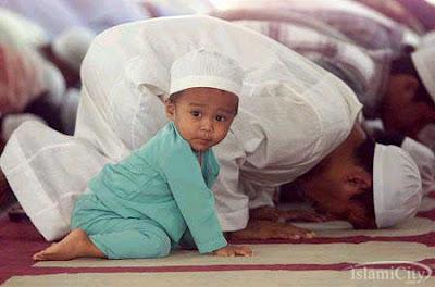 الصبيان رمضان ينوروا مساجد الرحمن